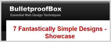 bulletproof box web design