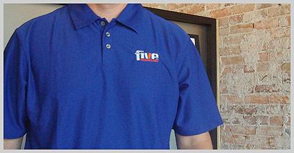 Web Design golf shirt