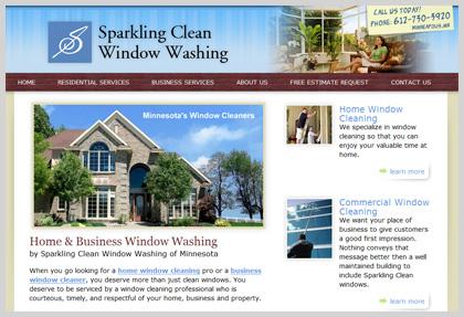 Website redesign clean