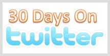 twitter for 30 days