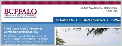 buffalo mn web design chamber
