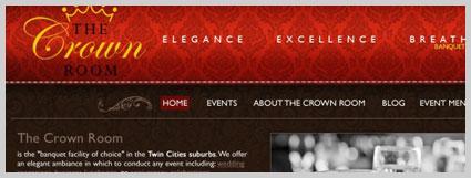 web design crown room MN