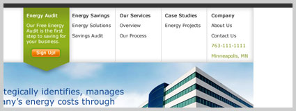 web design energy Minneapolis