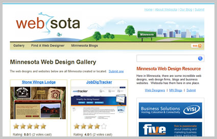 websota web design MN
