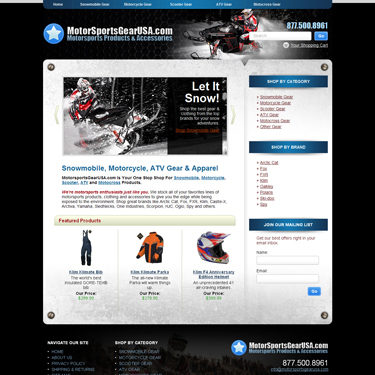 Motorsports Gear USA E-commerce