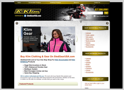 e-commerce-web-design-KLIM