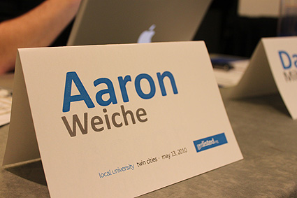 aaron weiche local u