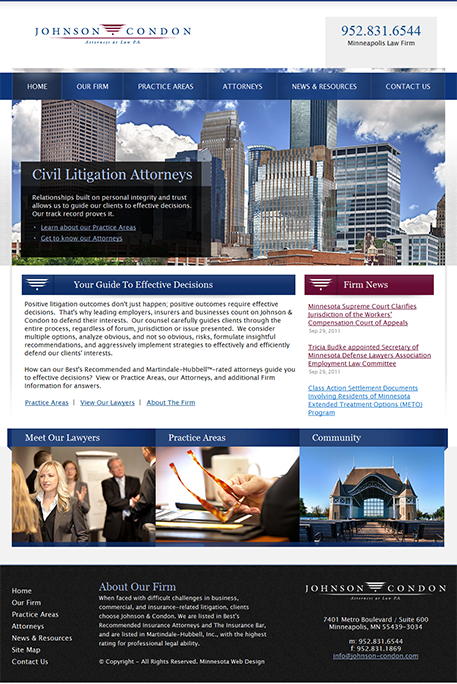 Johnson-Condon Minneapolis Law Firm