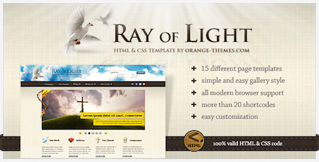 ray-of-light-church-theme-website-design