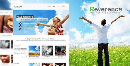reverence responsive church theme