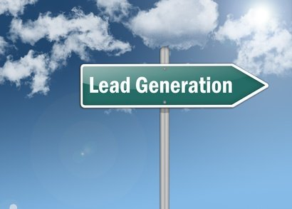 "Signpost ""Lead Generation"""